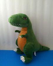 "Fiesta Jurassic Park T-Rex Green Dinosaur Tyrannosaurus 16"" Stuffed Plush"