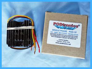 PODTRONICS POD-1P. 12V SINGLE PHASE 120W  REGULATOR-RECTIFIER SOLID STATE