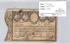 Portugal 5000 Reis 1799 N° 699144 Pick 11