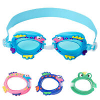Transparent Swimming  Eyewear Glasses Anti-fog UV for Kids Sports Summer Kit HU