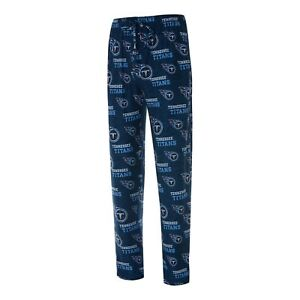 Men's Tennessee Titans Concepts Sport Royal Zest All Over Print Sleep Pants