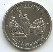 GY233 - Medaille Martin Luther 1483-1546 Wormser Edikt Lutherstadt Wittenberg