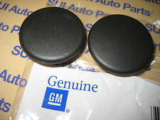 Chevy GMC Cadillac Rear Arm Rest Cap Cover Snap Set of 2 Genuine OEM GM Black