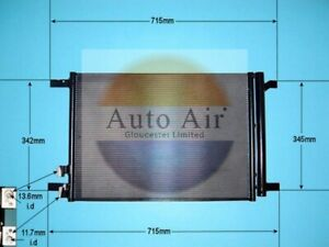 Auto Air Air Con Condensor 16-1058 Fits SEAT LEON