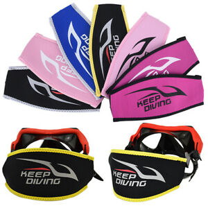 Diving Mask Head Strap Cover Mask Padded Protect Long Hair Band Strap-Wrapp^BI