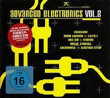 ADVANCED ELECTRONICS 8 - 2CD+DVD - (SITD, Covenant, Welle Erdball, Das Ich)