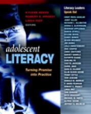 NEW Adolescent Literacy:Turning Promise into Practice byKylene Beers,Linda Rief…