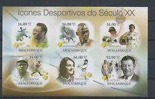 LM81417 Mozambique 2011 athletes sports imperf sheet MNH