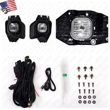 Fog Light w/Switch For 11-16 Ford F250 F350 F450 F550 XLT Super Duty CLEAR Lens