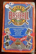 1992 UPPER DECK BASEBALL EDITION BASEBALL CARDS  SEALED BOX
