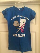 Fabulous Rock Paper Scissors Novelty T-shirt in Size Women's Small-Worn Twice!