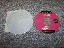 2003 Jeep Wrangler Shop Service Repair Manual DVD SE X Sport Sahara Rubicon