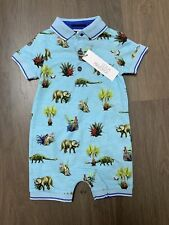 New Lola And Maverick Baby Boys Romper Playsuit Size 3-6 Months