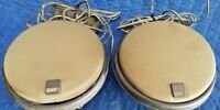 Used Pair MB QUART QM 130 KX GERMAN Speakers with grilles and crossovers