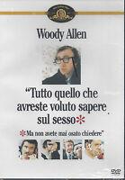 DVD « Tutto lo Che Tienes Deseado Conocimientos el Sexo » por Woody Allen Nuevo
