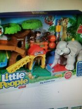 NEW FISHER PRICE LITTLE PEOPLE BIG ANIMAL ZOO