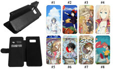 Howl's Moving Castle Totoro Anime Leather Wallet Flip Phone Case Samsung Galaxy