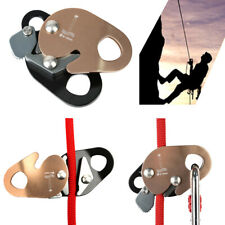 Climbing Equipment Safety Rope Grab Self Locking Fall Protection Rock Tree New