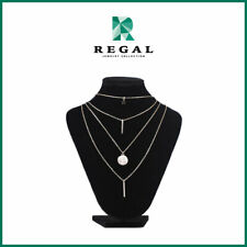 Alyssa Muhlach - Multiple Layered Chain Necklace - Regal Jewelry Collection