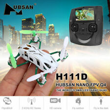 Hubsan H111D Q4 2.4G 4CH FPV Mini  RC Quadcopter with 480P Camera,LED, RTF in US