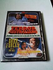 "DVD ""TERROR AUSTRALIANO VOL 1: PATRICK / DARK FORCES"" PRECINTADO SEALED RICHARD"