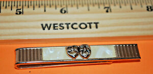 VINTAGE-TO-NOW TIE CLASPS & TACKS---MANY STYLES, COLORS, SHAPES---GOOD PRICES