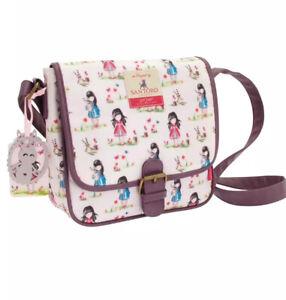 Santoro Gorjuss Coated Saddlebag Pastel Pattern Print Ladybird New RRP- £34.99!!