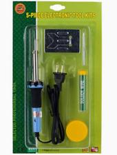 5-Piece Electronic Tool 30W Soldering Iron Pencil Heater Kit Cautin Soldadura