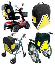 ViSiBag Safer To Be Seen  Hi-Vis Mobility Scooter / Wheelchair Bag Crutch Holder