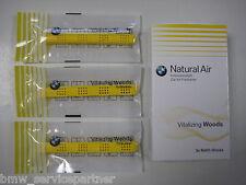 Original BMW Innenraumduft Natural Air Nachfüllset Vitalizing Woods 3 Sticks