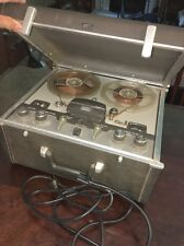 Vintage AMPEX 960 Tube Reel To Reel Tape Player/Recorder With Cord
