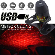 Meteor Star Red LED Car Ambient Ceiling Light USB Interior Galaxy Projector Lamp