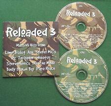Reloaded 3 Limp Bizkit Stereophonics Papa Roach U2 Toploader Wheatus + CD x 2