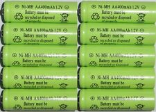 10 - Solar path light batteries AA Ni-Mh 400mAh 1.2v - Brand New Battery Ni-Cd