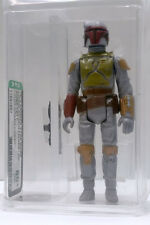 Kenner Star Wars Boba Fett Light Green Chest HK AFA 80+ loose vintage