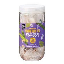 [NokChaWon] Premium Sword Bean 100% 40 Teabags Sweet Smell Health Herb Tea