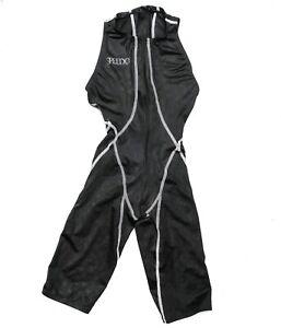 Black Speedo Fastskin Kneeskin Highneck Hydrasuit Swimsuit Lycra XS-S UK 27