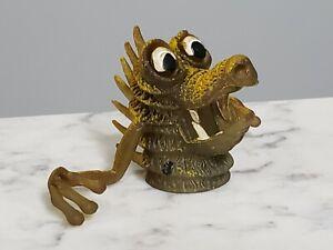 1970s Gigantor Rubber Finger Frights Jiggler Monster Puppet Authentic Hong Kong