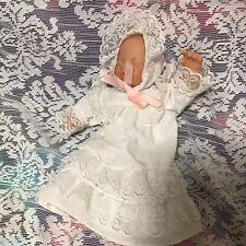 "9"" Vinyl /Cloth Body Sleeping Baby Doll"
