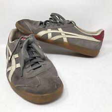Onitsuka Men's Tokuten Indoor Soccer Shoes Sz 10 Gray White Futbol Turf Sports