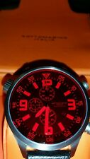 Sottomarino Italia watch - Rare Red crystal