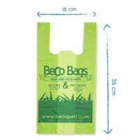 Beco 120 Handle Poo Bags Degradable Poop Dog - Bulk Buy options - Eco-Friendly