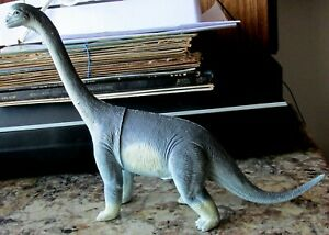 Toy Dinosaur Brachiosaurus 1986 rubber collectible action figure prehistoric Dor