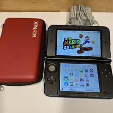 Console Nintendo 3ds Xl Bleu + Jeu Super Mario 3d Land Avec Chargeur Officiel