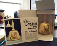 Mj Hummel Tm5 First Ed. Annual Bell 1978, Orig. Box