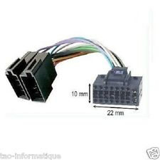 Cable ISO for head unit JVC KD-R35 KD-R45 KD-R50 KD-R53 KD-R90BTE KD-R301