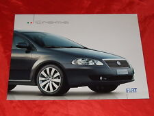 FIAT CROMA ACTIVE DYNAMIC EMOTION prospetto di 2005