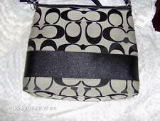 NWT AUTHENTIC COACH PURSE AND WRISLET BLACK $235.00