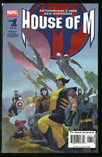 HOUSE OF M #1-8 VF / NM COMPLETE SET 2005 ASTONISHING X-MEN AND NEW AVENGERS