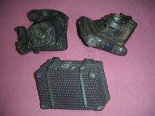Magnet - Phone / Camera / Briefcase (set of 3) - # 2446